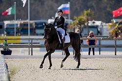 Van der Pols Sanne, NED, Cuvanck PP<br /> CDI3* Opglabbeek<br /> © Hippo Foto - Sharon Vandeput<br /> 23/04/21