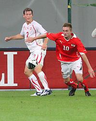 11.08.2010, Wörthersee Stadion, Klagenfurt, AUT, Testspiel, Oesterreich (AUT) vs Schweiz (SUI), im Bild Text, EXPA Pictures © 2010, PhotoCredit: EXPA/ D. Scharinger