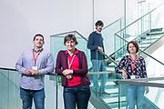 Siena, Mad Lab, from left Emanuele Andreano, Claudia Sala, Anna Kabanova and Marco Troisi