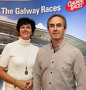 25/09/2018 Repro free: Ger and Noel Lally  at the launch of Galway Racecourse  details of their new and exciting three-day October Festival that takes place over the Bank Holiday weekend, Saturday 27th, Sunday 28th and Monday 29th continuing racing and glamour into the Autumn.<br />   Each of the three race days offers something for all the family to enjoy, with a special theme attached to each day, together with fantastic horse racing, live music, delicious hospitality, entertainment and of course the meeting of old friends and new at Ballybrit.  <br /> Halloween Family Fun <br /> On Saturday 27th October come along with your children and grand children and enjoy the 'Spooktacular' Halloween themed family fun day with lots of entertainment including a fancy-dress competition, Halloween games and face painting to mention but a few!! All weekend children under 16 years of age have free admission. <br /> Race in Pink <br /> As part of this new October Festival and with-it being Breast Cancer Awareness month, Galway Racecourse have partnered with The National Breast Cancer Research Institute to host a dedicated fundraiser on Sunday 28th October called 'Race in Pink'.  <br /> <br /> Student Race Day in aid of the Voluntary Services Abroad <br /> Monday sees the return of our annual 'Student Race Day' in conjunction with the Voluntary Services Abroad (a medical aid charity run by the fourth-year medical students of NUI, Galway), and the NUIG Rugby Club.  Each year, this fundraising day for the student organisations raises a tremendous amount of money for their chosen projects including the VSA annual summer volunteer trip to Africa where they use the funds raised to help projects at the hospitals they visit. <br />  National hunt racing on Saturday kicks off at 2.05pm with racing Sunday and Monday off at 1.05pm. Adult admission on all three days is €15 with children under 16 years of age, free. For more information please check out www.galwayraces.com <br /> <br /> -ENDS