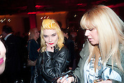 PAM HOGG; MANDI LENNARD, IMG HERALD TRIBUNE HERITAGE LUXURY PARTY.- Celebration of Heritage Luxury and 10 years of the International Herald Tribune Luxury Conferences. North Audley St. London. 9 November 2010. -DO NOT ARCHIVE-© Copyright Photograph by Dafydd Jones. 248 Clapham Rd. London SW9 0PZ. Tel 0207 820 0771. www.dafjones.com.