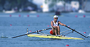 Banyoles, SPAIN, GBR W1X Tish READ. competing in the 1992 Olympic Regatta, Lake Banyoles, Barcelona, SPAIN. 92 Gold Medalist.   [Mandatory Credit: Peter Spurrier: Intersport Images]