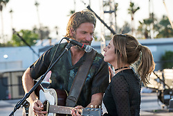 RELEASE DATE: October 5, 2018 TITLE: A Star is Born STUDIO: Gerber Pictures DIRECTOR: Bradley Cooper PLOT: A musician helps a young singer and actress find fame, even as age and alcoholism send his own career into a downward spiral.. STARRING: BRADLEY COOPER as Jackson Maine, LADY GAGA as Ally. (Credit Image: © Gerber Pictures/Entertainment Pictures/ZUMAPRESS.com)