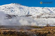Thermal vent in Geysir, Iceland
