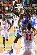 DESCRIZIONE : Roma Campionato Lega A 2013-14 Acea Virtus Roma Banco di Sardegna Sassari<br /> GIOCATORE :  Thomas Omar Abdul<br /> CATEGORIA : tiro equilibrio<br /> SQUADRA : Banco di Sardegna Sassari<br /> EVENTO : Campionato Lega A 2013-2014<br /> GARA : Acea Virtus Roma Banco di Sardegna Sassari<br /> DATA : 26/12/2013<br /> SPORT : Pallacanestro<br /> AUTORE : Agenzia Ciamillo-Castoria/M.Simoni<br /> Galleria : Lega Basket A 2013-2014<br /> Fotonotizia : Roma Campionato Lega A 2013-14 Acea Virtus Roma Banco di Sardegna Sassari <br /> Predefinita :