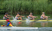 Lucerne, SWITZERLAND.  GBR W8+ Bow, Rosamund BRADBURY, Louisa REEVE, Katie GREVES, Donna ETIEBET, Jessica EDDIE, Zoe LEE, Polly SWANN, Caragh MCMURTRY and cox Zoe DE TOLEDO,  Race for lanes  at the 2014 FISA WC III, Lake Rotsee.  11:48:49  Saturday  12/07/2014  [Mandatory Credit; Peter Spurrier/Intersport-images]