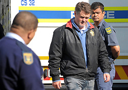 Cape Town - 160830 - A real estate mogul accused of murdering his wife appears in the Stellenbosch magistrate's Court, where he was released on bail of R100 000. Jason Rohde was arrested last week in Johannesburg. The 47-year-old's wife, Susan, was found dead in the couple's hotel room at the Spier Wine Estate late last month.  Picture Jeffrey Abrahams