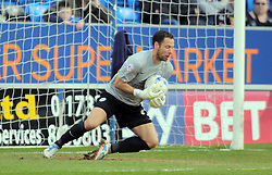 Mark Tyler of Peterborough United makes a save - Mandatory by-line: Joe Dent/JMP - 23/04/2016 - FOOTBALL - ABAX Stadium - Peterborough, England - Peterborough United v Scunthorpe United - Sky Bet League One