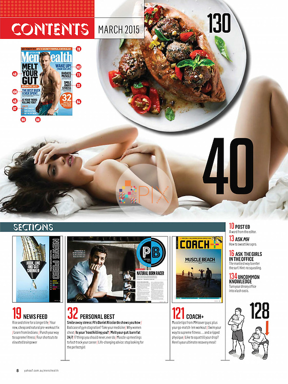 Some interesting insights into why women cheat, in the March issue of Men's Health Magazine Australia. <br /> <br /> Image from our shoot 'in bed with Kristen', which is available for worldwide use with approval: http://www.apixsyndication.com/gallery/in-bed-with-Kristen-Aubin/G0000m.F3dooGjUo/C0000jVYm61OV5fE