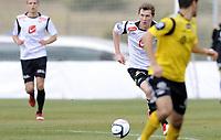 Fotball<br /> La Manga 2012<br /> 27.02.2012<br /> Sogndal v Start 1:2<br /> Foto: Morten Olsen, Digitalsport<br /> <br /> Ørjan Hopen - Sogndal
