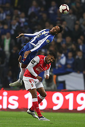 November 10, 2018 - Porto, Porto, Portugal - Porto's Brazilian defender Eder Militao (L) vies with Sporting Braga's Brazilian forward Diego Sousa (R) during the Premier League 2018/19 match between FC Porto and SC Braga, at Dragao Stadium in Porto on November 9, 2018. (Credit Image: © Dpi/NurPhoto via ZUMA Press)