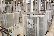 Media Tour of Bloom Energy Manufacturing Plant 1 in Sunnyvale, California, on August 2, 2019. (Stan Olszewski for Silicon Valley Business Journal)