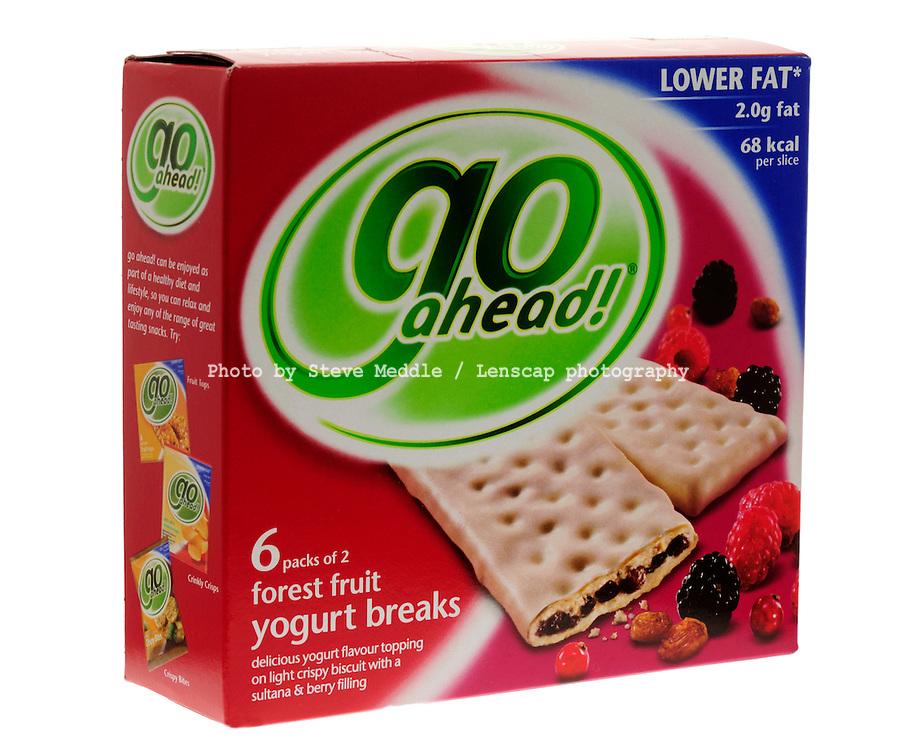 'Go Ahead' Low Fat Yogurt Biscuits