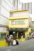 Contemporary noodle restaurant.