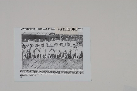 Waterford Team.All-Ireland Hurling Final at Croke Park, 1959, Waterford Hurling Team, back row from left, Freddie O'Brien, John Barron, Ned Power, Jackie Condon, Martin Og Morrissey, Joe Harney, Austin Flynn, Phil Grimes, Mick Lacey, Joe Coady, front row, Paudie Casey, Tom Cheasty, Larry Guinan, Mick Flannelly, Frank Walsh, John Kiely, Tom Cunningham, Seamus Power, Mickey O'Connor, Charlie Ware, Donal Whelan,