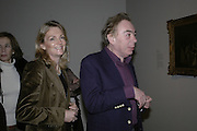 Lord  Andrew  and Lady Lloyd Webber, Hogarth private view and dinner. Tate Britain. London. 5 February 2007.  -DO NOT ARCHIVE-© Copyright Photograph by Dafydd Jones. 248 Clapham Rd. London SW9 0PZ. Tel 0207 820 0771. www.dafjones.com.