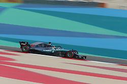 April 7, 2018 - Sakhir, Bahrain - Motorsports: FIA Formula One World Championship 2018, Grand Prix of Bahrain,#44 Lewis Hamilton (GBR, Mercedes AMG Petronas F1 Team) (Credit Image: © Hoch Zwei via ZUMA Wire)