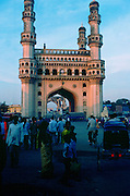 Charminar Gateway at Hyderabad, India  built in 1591