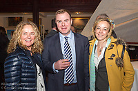 (l to r) Pamela Collen, Barry King, and Sandra Mullen, from new Regatta sponsors Collen Construction, attending the official launch of Volvo Dún Laoghaire Regatta 2017 in the National Maritime Museum of Ireland on Wednesday evening. The Regatta will be among the biggest mass-participatory sporting event in Ireland this year (eclipsed for numbers only by the city marathons).