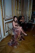 SOPHIA LORETAN, The 2008 Crillon Debutante Ball. Getting Ready the Day before. Crillon Hotel. Paris. 29 November 2008. *** Local Caption *** -DO NOT ARCHIVE-© Copyright Photograph by Dafydd Jones. 248 Clapham Rd. London SW9 0PZ. Tel 0207 820 0771. www.dafjones.com.