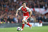 Hector Bellerin of Arsenal in action. Premier league match, Arsenal v Middlesbrough at the Emirates Stadium in London on Saturday 22nd October 2016.<br /> pic by John Patrick Fletcher, Andrew Orchard sports photography.