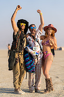 """This guy came up and said """"What are you taking pictures for?"""" Implying that we were doing it wrong or whatever. He was not ready for my judo move of including him in the fun we were having making images. - https://Duncan.co/Burning-Man-2021"""