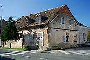 Damaged building, Petrinja, Croatia