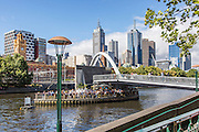 Melbourne Cityscape and Southgate Bridge