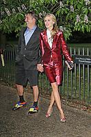 LONDON - JUNE 26: Donna Air attended the Serpentine Gallery summer party, Kensington Gardens, London, UK. June 26, 2012. (Photo by Richard Goldschmidt)