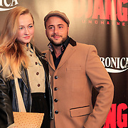 NLD/Amsterdam/20130114 - Premiere Django Unchained, Caroline Spoor en Jon Karthaus