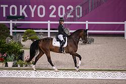 De Liedekerke-Meier Lara, BEL, Alpaga d'Arville, 207<br /> Olympic Games Tokyo 2021<br /> © Hippo Foto - Dirk Caremans<br /> 30/07/2021