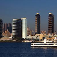 USA, California, San Diego. The San Diego Coronado Passenger Ferry.