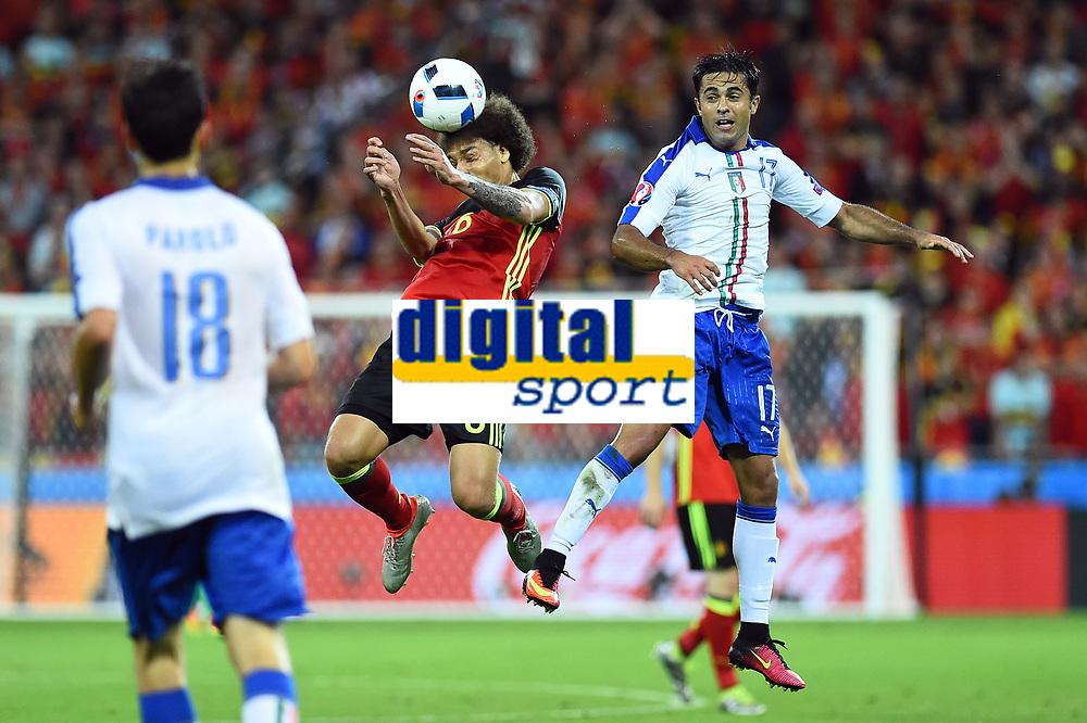 Axel Witsel Belgium, Eder Italy <br /> Lyon 13-06-2016 Stade de Lyon Footballl Euro2016 Belgium - Italy / Belgio - Italia Group Stage Group D. Foto Massimo Insabato  / Insidefoto
