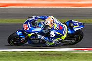 M.Vinales / Team Suzuki Moto GP / Suzuki during the Octo British Grand Prix at Silverstone, Towcester, United Kingdom on 28 August 2015. Photo by Craig McAllister.