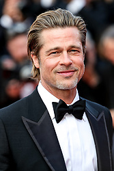 May 21, 2019 - Cannes, France - CANNES - MAY 21:  Brad Pitt arrives to the premiere of '' ONCE UPON A TIME... IN HOLYWOOD '' during the 2019 Cannes Film Festival on May 21, 2019 at Palais des Festivals in Cannes, France. (Credit Image: © Imagespace via ZUMA Wire)