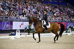 Hester Carl, GBR, Nip Tuck<br /> Grand Prix Freestyle<br /> FEI World Cup Dressage Final, Omaha 2017 <br /> © Hippo Foto - Dirk Caremans<br /> 01/04/2017