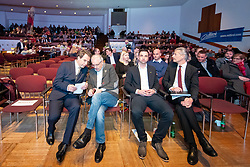 29.01.2019, Stadtsaal, Lienz, AUT, TVBO Wahl 2019, Wahlwiederholung, im Bild Franz Theurl, freiwilliges Mitglied, Werner Frömel, Eventagentur // during the redial of the TVBO election at the Stadtsaal in Lienz, Austria on 2019/01/29. EXPA Pictures © 2019, PhotoCredit: EXPA/ Johann Groder