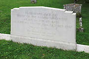 Air raid victims grave from 1942, Saint Bartholomew, Orford, Suffolk, Suffolk, England, UK