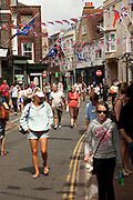 Cowes is an English seaport town on the Isle of Wight. Cowes has been seen as a home for international yacht racing since 1815. The town gives its name to the world's oldest regular regatta, Cowes Week, which occurs annually in the first week of August.