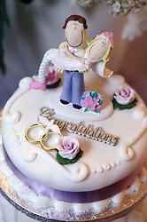 Top tier of wedding cake,