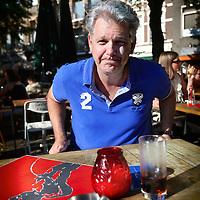 Nederland, Den Haag , 24 juli 2012..Hero Brinkman (Almelo, 29 december 1964) is een Nederlands politicus..Op 19 juni 2012 maakte Hero Brinkman bekend dat hij een nieuwe partij op ging richten, het Democratisch Politiek Keerpunt. De partij is een fusie van zijn Onafhankelijke Burgerpartij en Trots op Nederland van Rita Verdonk. Het Democratisch Politiek Keerpunt doet mee aan de tweede kamerverkiezingen van 2012, maar de plannen zijn nog onbekend. Volgens Brinkman heeft de partij een zeer krachtig geluid van rechts.[19].Foto:Jean-Pierre Jans