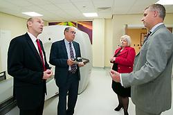 John Healey MP Member for Wentworth  Dearne Visits Thornbury Medical Centre.17th October 2011. Image © Paul David Drabble