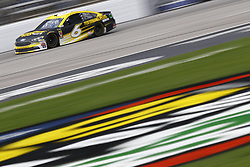April 8, 2018 - Ft. Worth, Texas, United States of America - April 08, 2018 - Ft. Worth, Texas, USA: Trevor Bayne (6) brings his race car down the front stretch during the O'Reilly Auto Parts 500 at Texas Motor Speedway in Ft. Worth, Texas. (Credit Image: © Chris Owens Asp Inc/ASP via ZUMA Wire)
