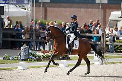 Pauluis Larissa, BEL, Barroso<br /> Longines FEI/WBFSH World Breeding Dressage Championships for Young Horses - Ermelo 2017<br /> © Hippo Foto - Dirk Caremans<br /> 03/08/2017