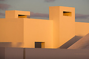 Warm Light on Cream Walls, Lanzarote