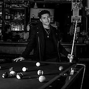 Editorial photo shoot with actor Nathaniel Potvin for Bit Map Magazine - Jason Ryan Photography