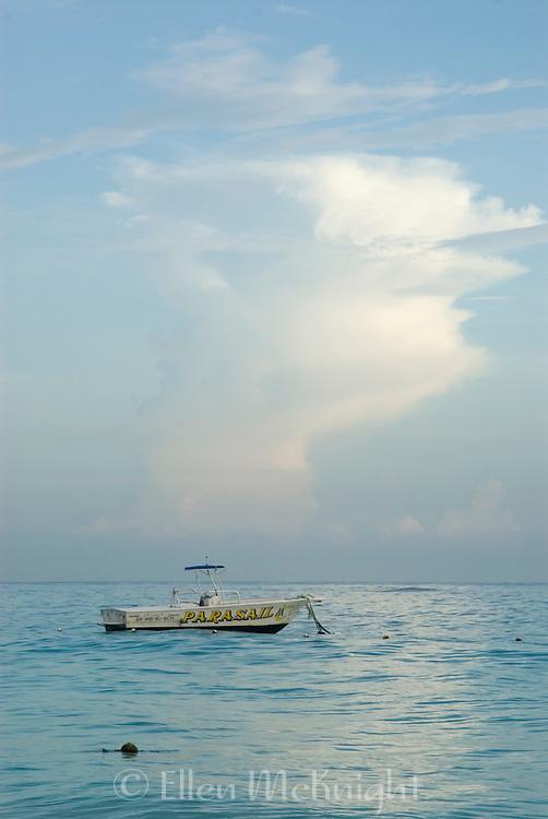 Parasail boat in Punta Cana