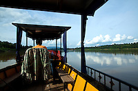 The Mekong River flows for 4350 kilometers from the Tibetan Plateau.  It runs through Yunnan Province in China, Burma, Laos, Thailand, Cambodia and finally Vietnam. The Mekong is the main transport artery through land-locked Laos.