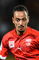 Karim Ait Fana of Nimes during the Ligue 2 game between Lens and Nimes on August 15, 2016 in Nimes, France. (Photo by Alexandre Dimou/Icon Sport )