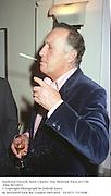 Frederick Forsyth. Saint Charles  Day Heidsiek Party.6/11/96. Film 96718f11<br />© Copyright Photograph by Dafydd Jones<br />66 Stockwell Park Rd. London SW9 0DA<br />Tel 0171 733 0108